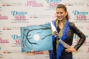Miss Japan 2012: Art Auction, Ayako Hara, Japan 2012