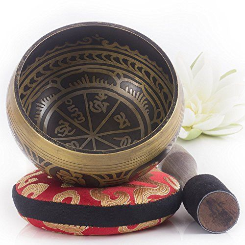 Silent Mind ~ Cuenco Tibetano de Diseño Antiguo~ Genial para Meditación, relajación, estrés y ansiedad alivio, Sanación del Chakra, Yoga, Zen ~ Regalo Espiritual Perfecto #Silent #Mind #Cuenco #Tibetano #Diseño #Antiguo~ #Genial #para #Meditación, #relajación, #estrés #ansiedad #alivio, #Sanación #Chakra, #Yoga, #Regalo #Espiritual #Perfecto