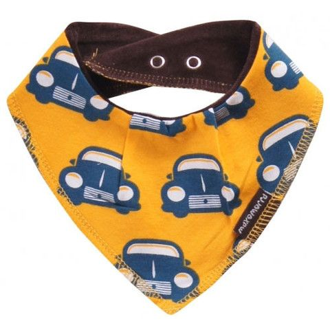 Retro Car Dribble Bib - ittikid • Scandinavian Children's Clothes - Scandinavian Baby and Kids Clothes | Organic Eco Friendly Kids Clothes from Smafolk, Maxomorra, Duns Sweden, Sture & Lisa