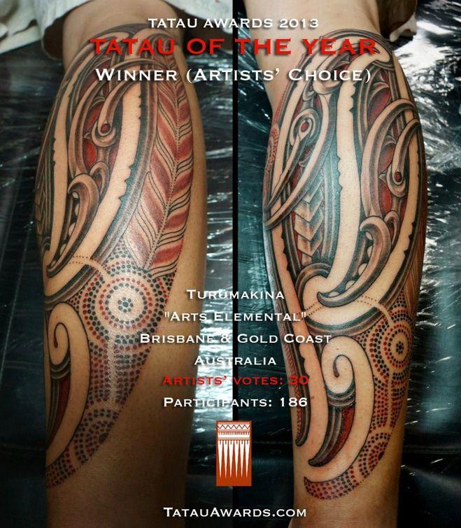 Tatau of the year 2013 - 1st - Turumakina