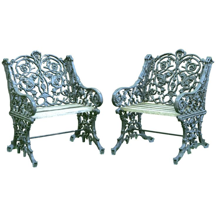 17 best ideas about cast iron garden furniture on Cast iron garden furniture