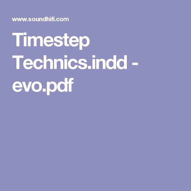 Timestep Technics.indd - evo.pdf