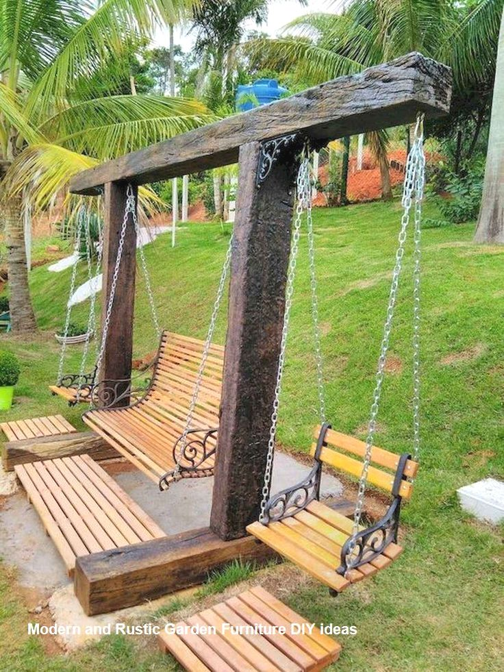 Most Affordable And Simple Garden Furniture Ideas Backyardfurniture Diygarden Garden Furniture Design Outdoor Diy Projects Diy Garden Furniture