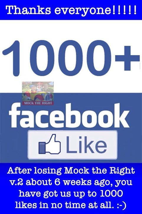 Thank you all :-) #MockTheRight #ResistingHate Facebook - https://goo.gl/tYgshr -- March 18 2018 at 01:00PM