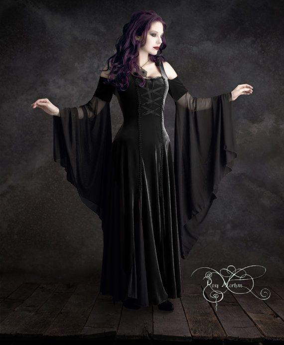 Imaginaerum Fairy Tale Romantic Wedding Dress - Handmade To Your Measurements & Colors (including plus size!) Romantic Gothic Faerie Dress