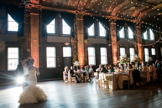 Turner Hall is definitely in our top 5 favorite Milwaukee venues. Its raw, unrefined space was first built in 1882. It has survived two fires (look at the ceiling) and pushed on to become one of Milwaukee's best places to host to concerts and weddings. Photo by @tresjoliephoto .