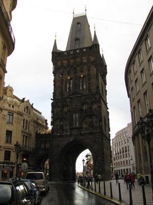 Prague's Powder Gate