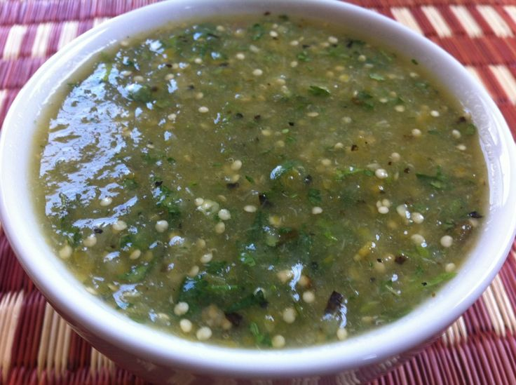 33 best vegetarian mexican south american caribbean recipes homemade tomatillo salsa mayabugss recipes forumfinder Gallery