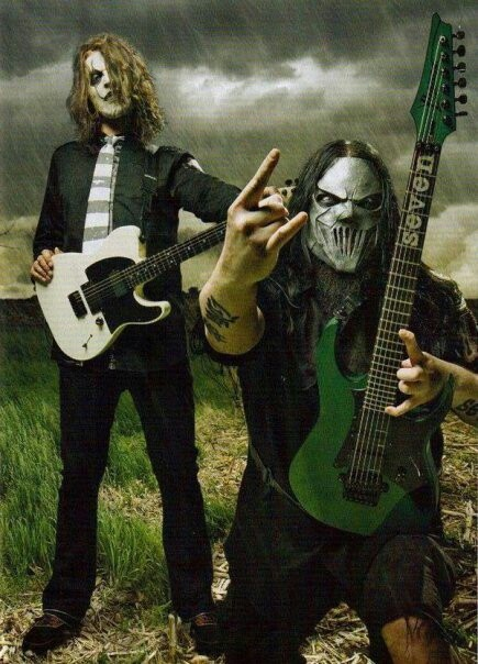 James Root & Mick Thompson