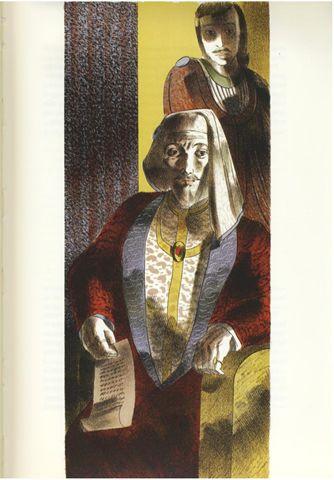 Barnett Freedman. Shakespeare, King Henry IV, Part 1