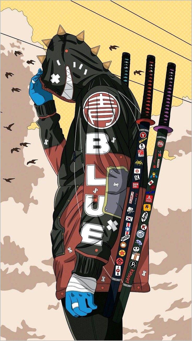 Anime Wallpaper 4k Samurai In 2020 Samurai Wallpaper Anime Cyberpunk Art