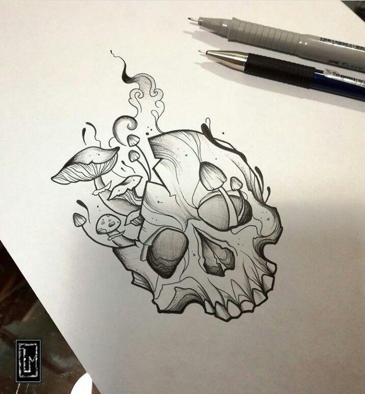 Pin De Yajaira Rojas Rico En Dibujo Dibujos Para Tatuar Calaveras A Lapiz Como Dibujar Tatuajes