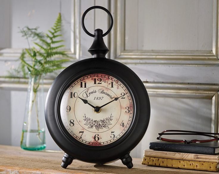 Buy the Vintage Style Clock From K Life. Your online shop for K-LifeSoftFurnishing - FREE DELIVERY on orders over £50.