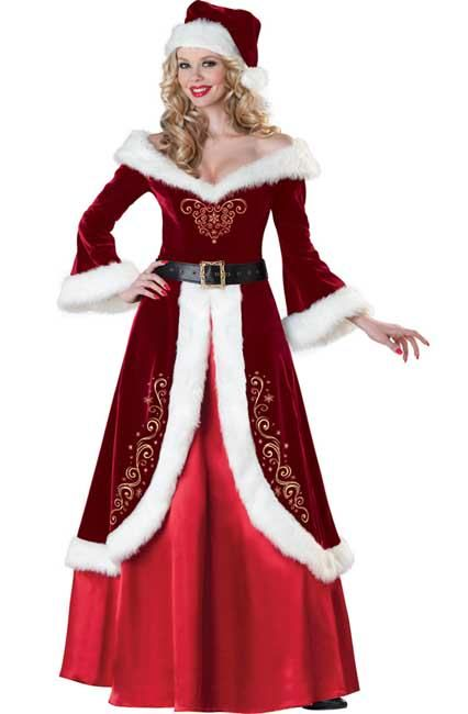 Fun Mrs Santa Claus costumes set the mood for a great time at any holiday or costume event. Join in on all the fun with your own Mrs Santa Claus costume.