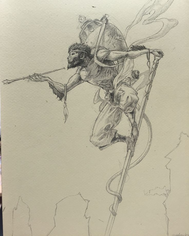 Monkey king sketch