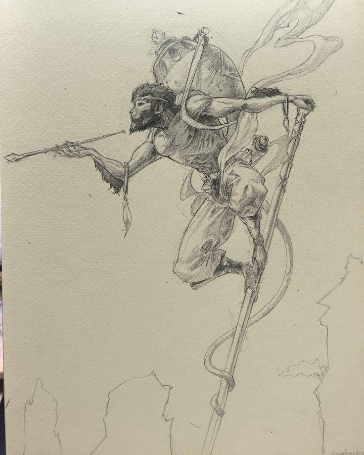 Monkey king sketch