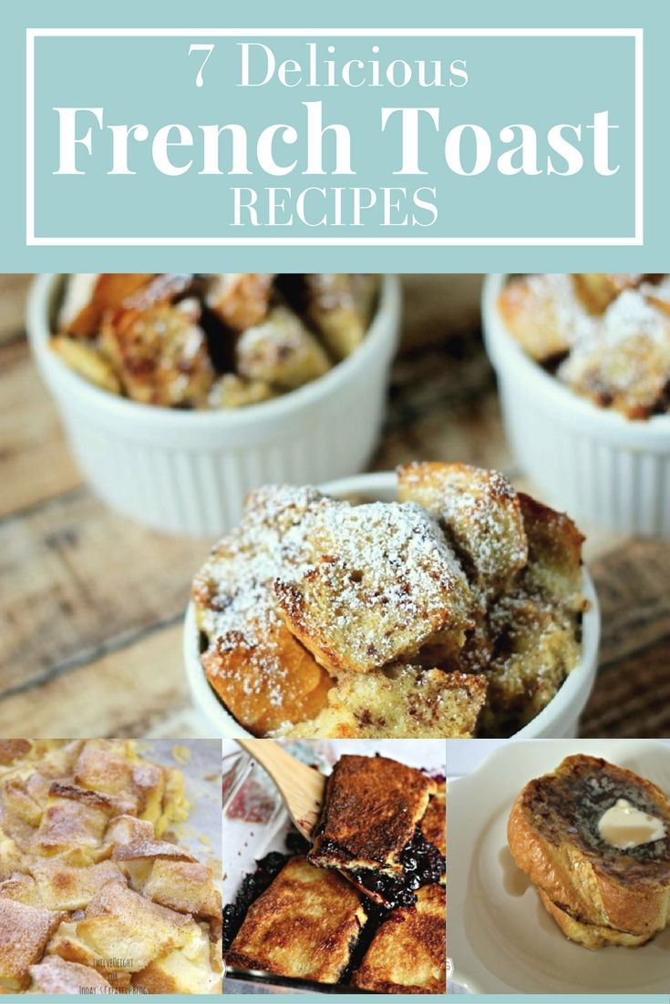 French Toast Recipe | Find 7 different French Toast Recipes on Today's Creative Life. French Toast Casseroles, Slow Cooker French Toast, Coffee Creamer French Toast and more.