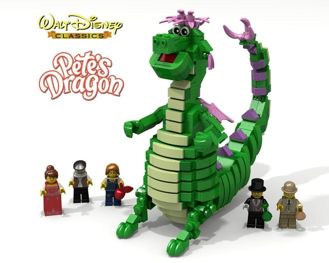 Welcome to my latest project: Pete´s Dragon! This set may bring back some lovely childhood memories! Pete's Dragon is a 1977 live-action and animated musical film from Walt ...