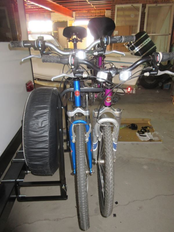 Swagman Around The Spare Deluxe 2 Bike Rack For Rv Bumpers Swagman
