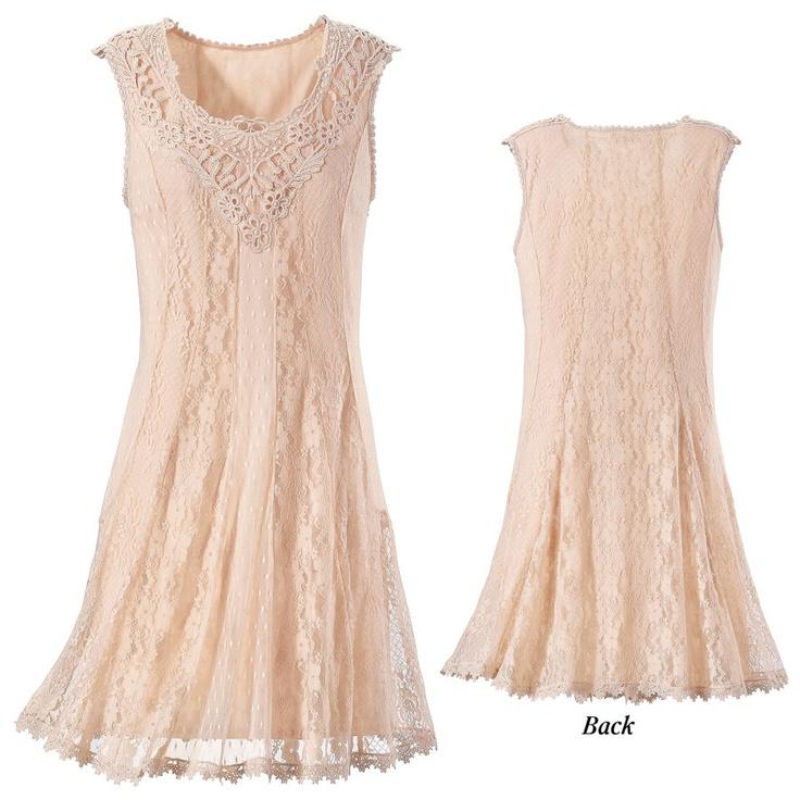 Blush lace dress from acacia bridesmaid pinterest for Lace blush wedding dress