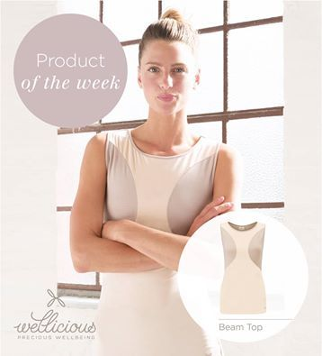 PRODUCT OF THE WEEK!   Our Beam Top from the new Wellicious SS15 range. Made in Europe from 62% Lyocell, 31% Organic Cotton and 7% Elastane, it is super soft and feels great on your skin! heart emoticon    Get yours now - www.wellicious.com/beam-top.html  To read more about our Promise - www.wellicious.com/our-promise