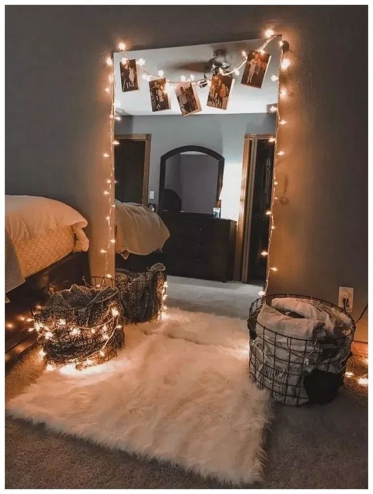 42 simple holiday decorating ideas with lights 20