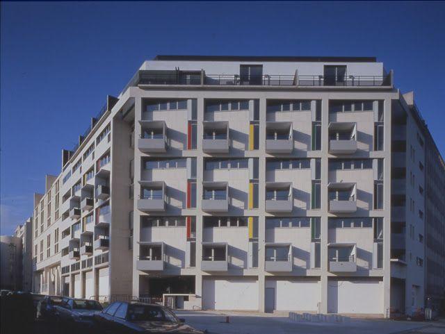 Henri Ciriani: LOGEMENTS ET COMMERCES A PARIS 1987-1991
