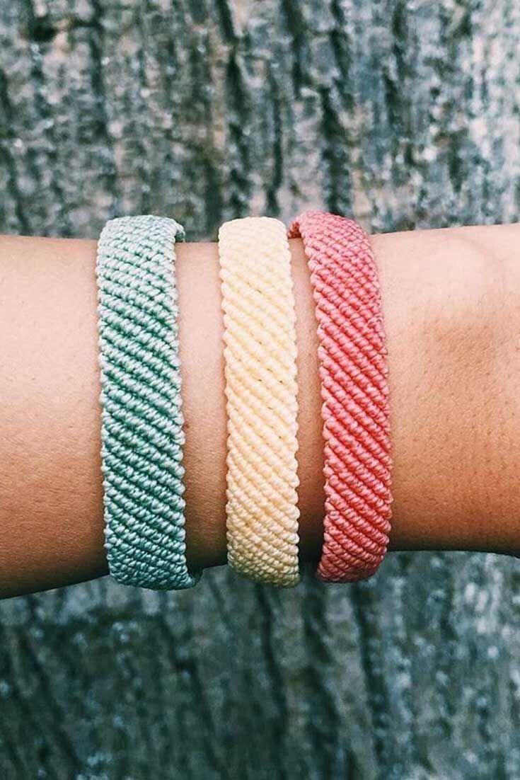 Schicke Boho Armband Idee. #DIY #boho #bracelet – …