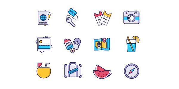 Vacation-Stuff-Icons-freebie