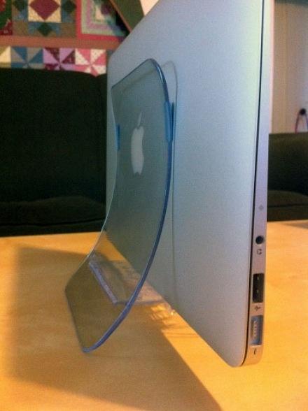 Härligt MacBook air ställ