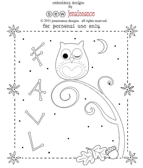 fall owl pattern!