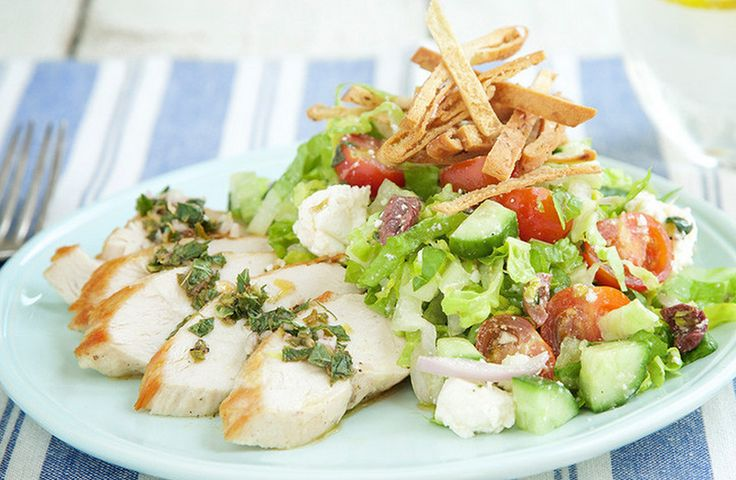 Greek Chicken Salad. Beach body ready. http://www.chefd.com/collections/all/products/greek-chicken-salad