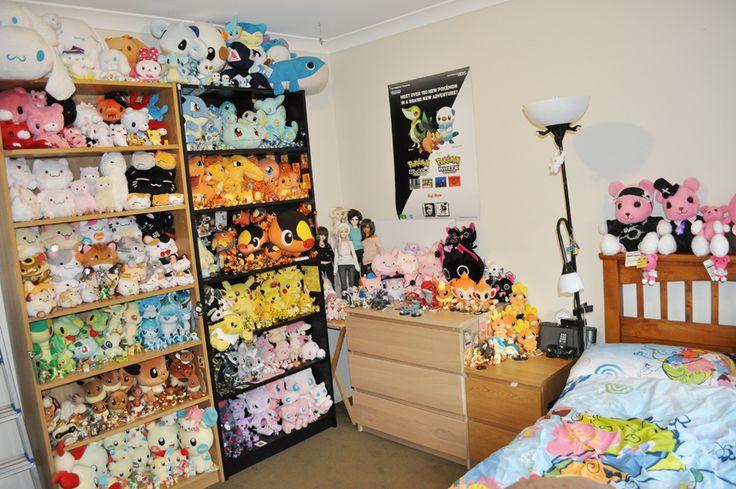 Pokemon bedroom ideas