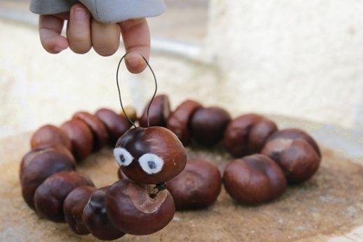 Kaštánková žížala - Testováno na dětech