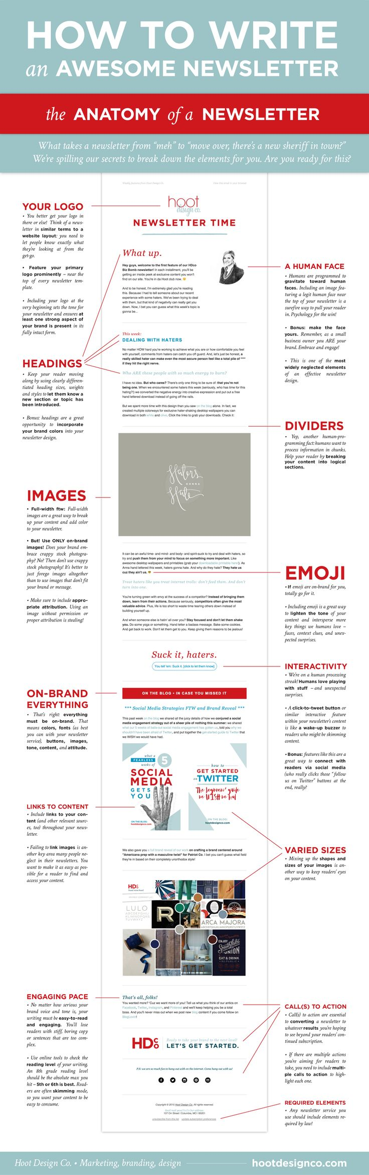 how to write an awesome newsletter anatomy. Black Bedroom Furniture Sets. Home Design Ideas
