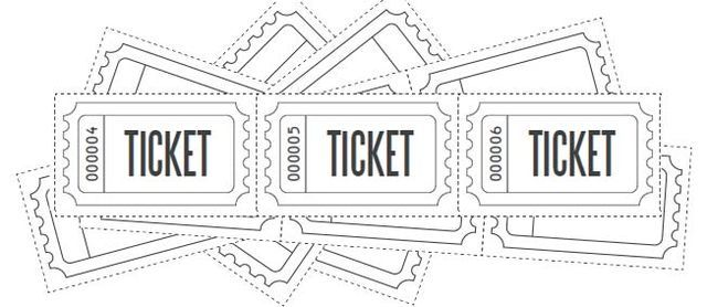 Customized Raffle Ticket Blanks | Free Printables Online | Bloglovin'