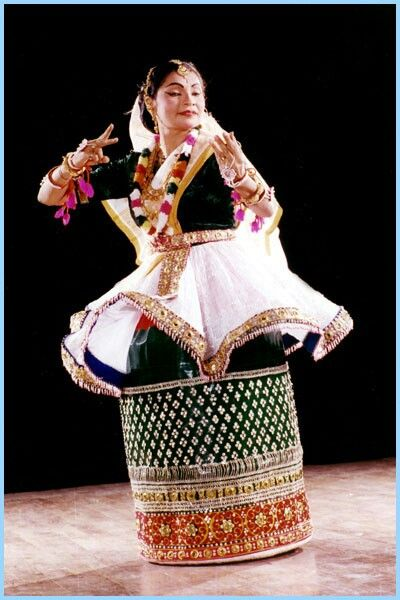 Manipuri comes from Manipur in northeastern India.