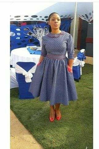 Shweshwe Dresses Ideas Fashiong4 Dresses 2017 In 2019