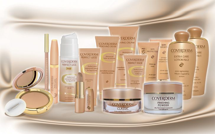 Coverderm Camouflage range