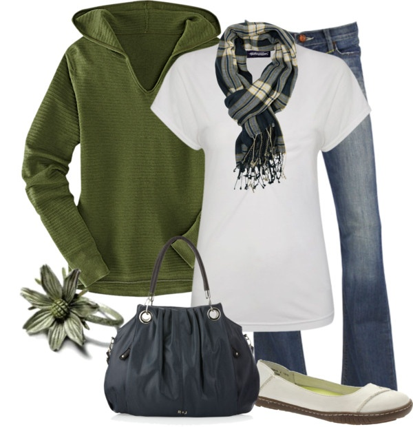 """""""Olive and Navy"""" by lagu on Polyvore.  Shoes are nerdy, but I love the rest!"""