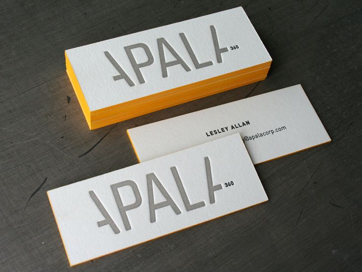 19 best business cards images on pinterest graph design business yes edge painting your business cards can make them pop up here are 20 excellent examples of business cards with edge painting for inspiration colourmoves