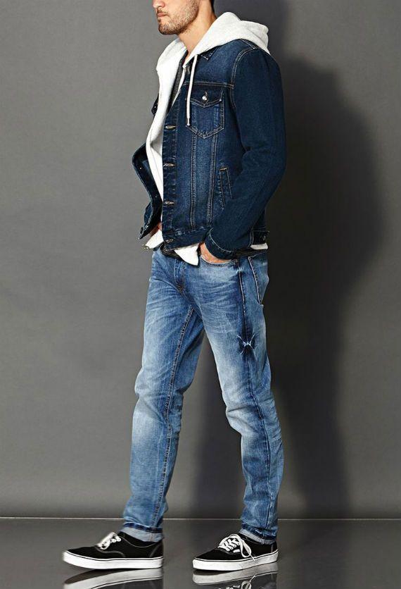 Como Combinar Jeans Com Jeans na Moda Masculina