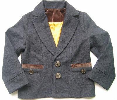 Organic Hemp and Cotton Kids Jacket for Boys Bira Biro