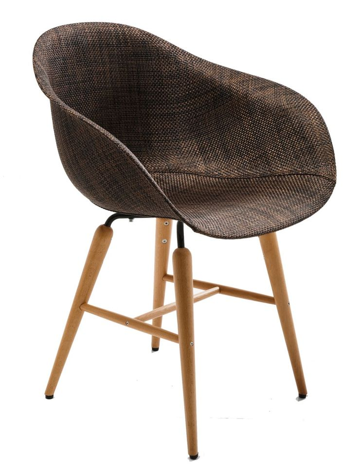 Forum chair hout - Kare Design - bruin