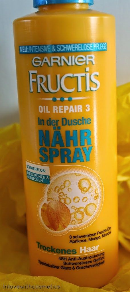 Garnier Fructis Oil Repair 3 In der Dusche Nähr Spray