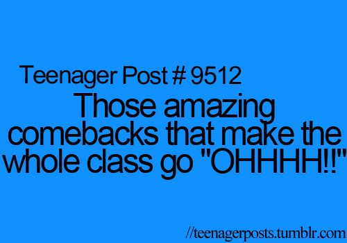 oh yes, we have a lot of those in our class, don't we @Molly Jacoby and @LuckyBelle? lol