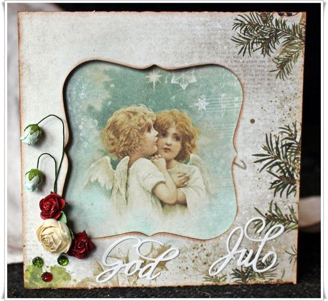 Scrappiness: Julekort av reste ark.