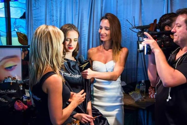 Lalita Green interviewing 'Kylie's Professional' for Fashion One Network and Fashion Observer Magazine  #bbiff #fashionone #fashionfestival #byronbay