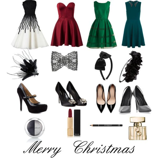 Christmas ideas - that green dress!!!