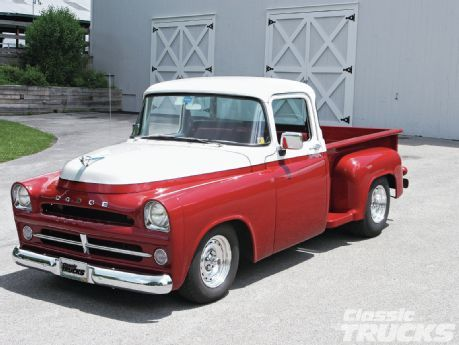 old dodge trucks | 1957 Dodge Truck